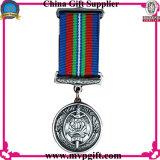 Médaille neuve de récompense en métal pour le cadeau militaire de médaille