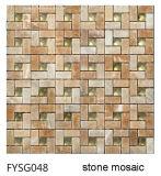 De Tegel van het Mozaïek van de Steen van het Bouwmateriaal en de Tegel van het Kristal (FYSG048)
