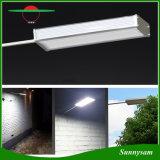 48 luz impermeable al aire libre ligera solar de la pared del jardín de la lámpara de la seguridad del sensor de movimiento del radar de microonda del LED 800lm con modo de iluminación 4