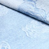 Tessuto del denim del jacquard dello Spandex del cotone dei jeans
