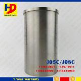 Forro do cilindro das peças de motor Diesel J08c para Hino (11467-2601)
