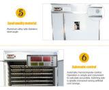 L'incubateur industriel automatique multifonctionnel le plus neuf d'oeufs d'oie/canard/poulet (1232 oeufs)