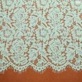 Tela do laço da tela do bordado para o desgaste de mulheres