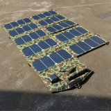 60W 21V / 5V doble salida del banco de energía del cargador del panel solar