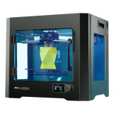 Imprimantes duelles de l'extrudeuse 3D d'imprimante neuve de l'appareil de bureau 3D d'Ecubmaker (noir)