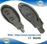 Yaye 18 heiße Fabrik-Preis USD73.5/PC des Verkaufs-Ce/RoHS PFEILER 100W LED Straßen-Lampe Straßenlaterne-/COB-100W LED