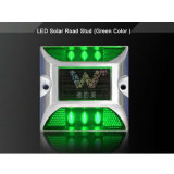 Wasserdichter Solar Energy Reflektor-Aluminiumstraßen-Markierung des Grün-LED
