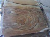جلّخ منظر طبيعيّ أصفر خشبيّة حجر رمليّ