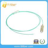 Отрезок провода волокна Sc Om3 Aqua, 0.9mm/2.0mm /3.0mm