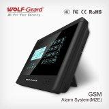 2016 Wolf caldo Guard Smart Alarm System GSM Wireless con Voice e Touch Screen