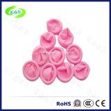 100%の粉のないピンクの自然な乳液ESD指の折畳み式ベッド