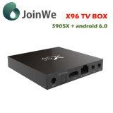 新しいGoogleのアンドロイド6.0 S905 TVボックスX96