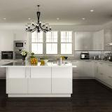 最上質の使用されたステンレス鋼は白い木製の食器棚を扱う