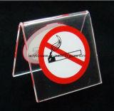 ясности знака 60*60 mm индикация изготовленный на заказ для некурящих акриловая (HY-YXI30)