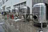 Бак заквашивания пива нержавеющей стали конический яркий