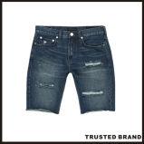 Краткости джинсыов джинсовой ткани краткостей способа 5 карманные тощие (GW11)
