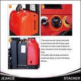Jeakue Stand and Tenedor Alcance 1-2.5t eléctrica usada