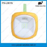Lanterna solar da solução 4500mAh/6V da potência com o carregador do telefone para o acampamento ou a iluminação Emergency