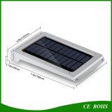Indicatore luminoso solare impermeabile di alluminio astuto della parete del sensore di movimento con la lampada luminosa eccellente del LED