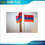 Poteaux en bois à main nationale National Hand Hold Flag (M-NF10F02004)