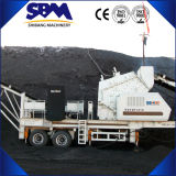 Machine mobile de broyeur de piste, broyeur de mobile de grande capacité