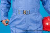 Vêtements de travail uniformes de longue chemise de qualité de la sûreté 65%P 35%C avec r3fléchissant (BLY1023)