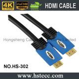 Mâle élevé de la Double-Couleur HDMI de définition au câble mâle un type