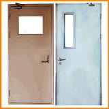 ガラス窓が付いている熱い販売の鋼鉄耐火性のドア