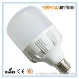 ampoule en plastique d'Aluminum& DEL de forme de la qualité T de 5/10/15/20/30/40W E27