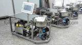 El PLC controla el mezclador del vector del polvo del acero inoxidable con las ruedas