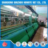 Rede de segurança resistente UV da rede da máscara de Sun do verde do HDPE da amostra livre de Hongye