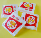 Eco-Friendly 음식 급료 박판으로 만들어진 종이 Bag/Fries Bag/Food 부대