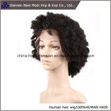 Parrucca umana crespa di colore di Afro nero all'ingrosso di Short