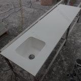 Countertop кухни Atificial мраморный каменный твердый поверхностный, верхние части стенда