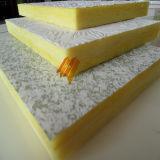 Placa do teto das lãs de vidro de isolação sadia da fibra de vidro (600*1200mmm)