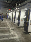 Machine d'impression multicolore à grande vitesse de rotogravure de registre (vitesse 220m/min)