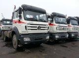 Têtes d'entraîneur du camion 6X4 d'entraîneur de Beiben Ng80