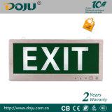 Indicatore luminoso del segno dell'uscita di sicurezza di DJ-01E LED con i CB