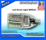 95% 효율성 LED Outdoor 80W LED Street Light Manufacturers