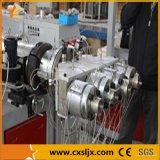 Linha de produção a rendimento elevado da tubulação da cavidade do PVC quatro