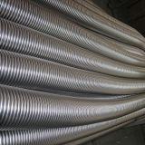 L'acier inoxydable 304 a ridé le tuyau de métal flexible