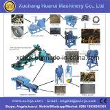 ゴム製粉機械をリサイクルする装置の価格/不用なタイヤをリサイクルする使用されたタイヤのプロセス用機器/タイヤ
