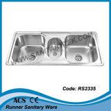 Одиночная раковина кухни нержавеющей стали шара (RS2301)