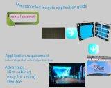 Visualización de LED ligera estupenda del Portable para los acontecimientos al aire libre y de interior