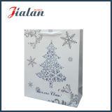 최신 각인 크리스마스 선물 패킹 물색 종이 봉지로 주문을 받아서 만드십시오