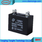 AC Ceiling Fan Motor Capacitor of Cbb61 450V 1.5UF