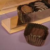 チョコレート(キャンデーの包装)のためのカスタムPPのギフト用の箱