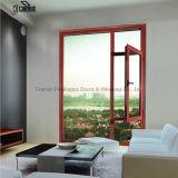 Finestra di alluminio della stoffa per tendine per la villa e l'edificio residenziale (FT-W108)