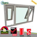 Diseño de cristal interior plástico de las persianas de ventana de cristal del toldo de UPVC