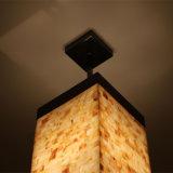 Lámpara pendiente del cuadrado del shell de Natual de la alta calidad de Guzhen